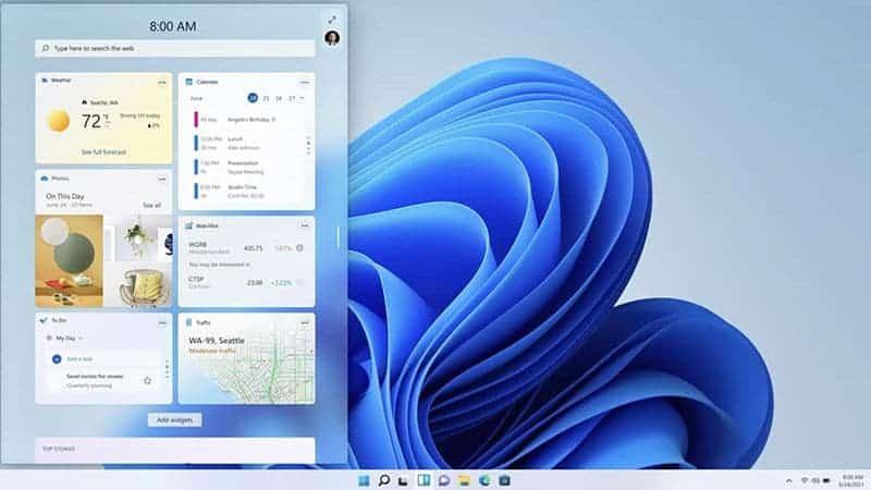 ویندوز 11 توسط مایکروسافت معرفی شد
